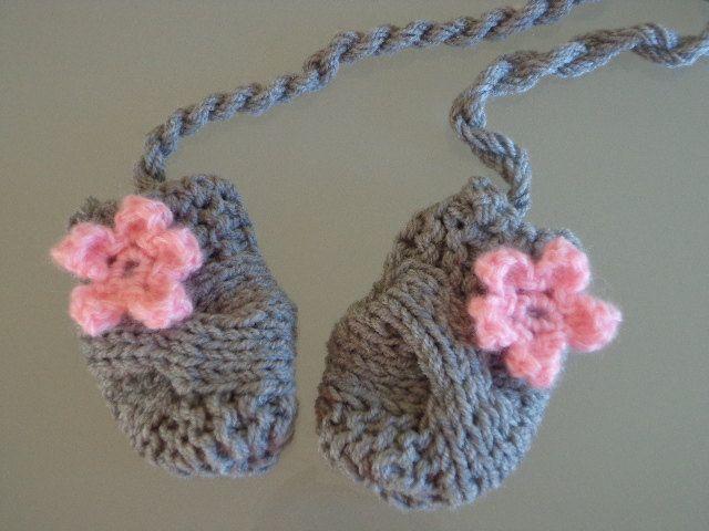 Crochet Baby Mittens Newborn Mittens Baby Girl Mittens Baby Mitts