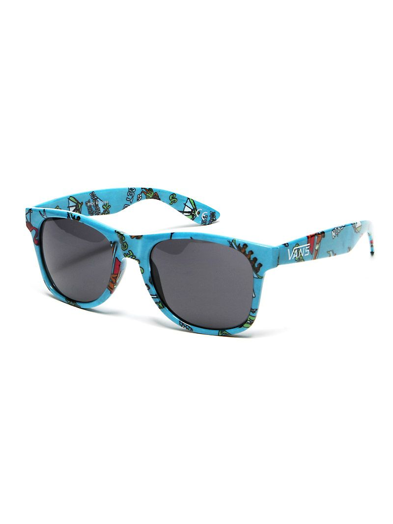 1fd252edfb3 Vans  Spicoli 4  Sunglasses Milky Blue Aloha  10.99