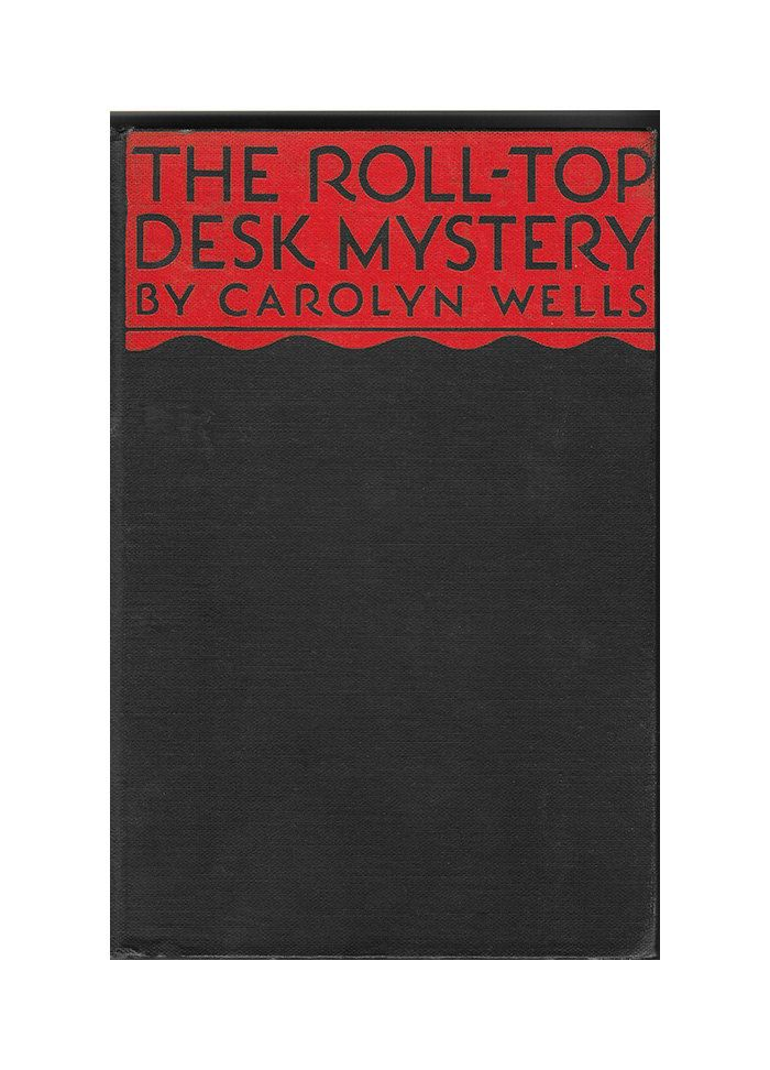 The Roll-Top Desk Mystery | Very Rare | 1932 by ScottieBooks on Etsy