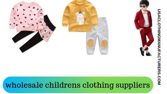 usa clothing manufacturers boutique fashion baby clothing