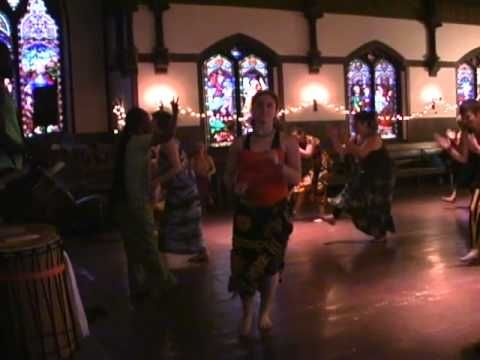 Yolani Bangouri part 4/10 'African Dance And Drum Brattleboro Vt'