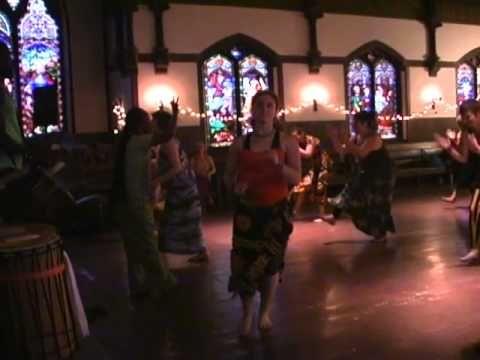 Yolani Bangouri part 4/10 'African Dance And Drum Brattleboro Vt'