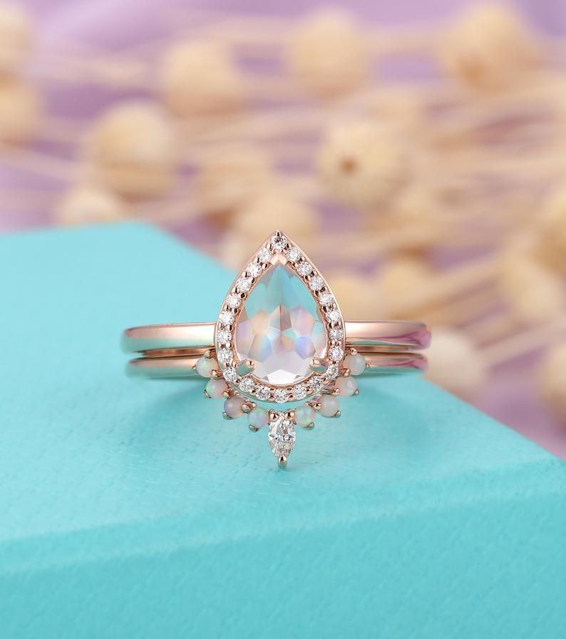 Opal Solid Wedding Band