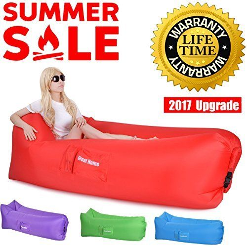 outdoor inflatable lounger chair & inflatable couch - air lounger