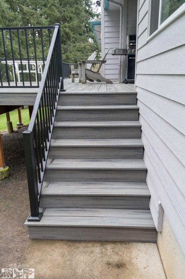 Albany Oregon Deck Companies Trex Deck Composite Deck