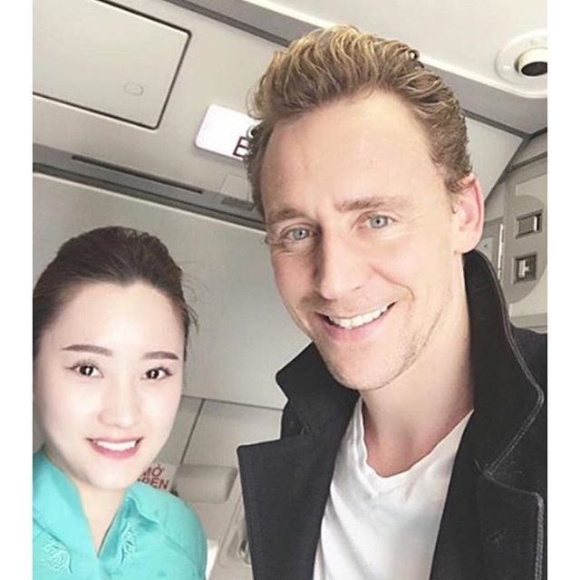 ❄️Loki Got The Caption❄️ They are so cute! I still totally ship them! They're so so so so so so cute together! BUT, Tom's smile just mostly draws my attention it's just so white and wide omfg! CAN HE BE ANY MORE SEXY?! • Goodnight my beautiful Tomki Warriors! Stay safe! xx Senpai • Credit to tumblr! • #tomhiddleston #hiddles #twhiddleston #tomnomnom #omg #hot #sex #sexy #smexy #sexonlegs #whatovaries