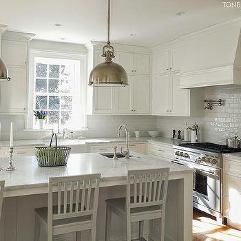 White On White Kitchen Design Transitional Kitchen Farrow And Best Transitional Kitchen Design Design Decoration