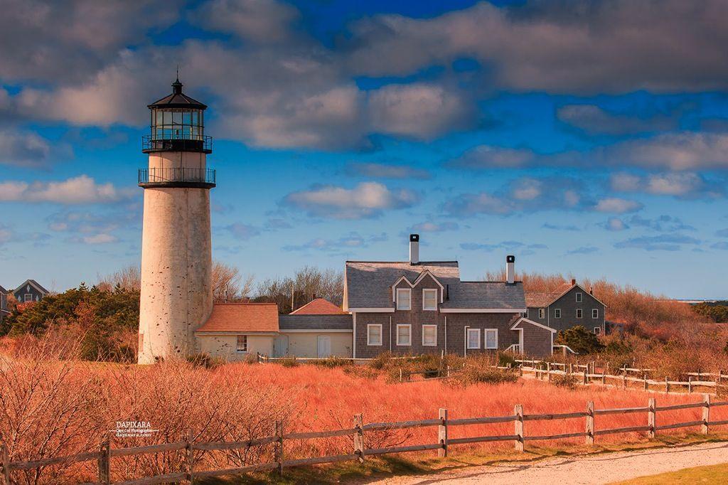 Highland Lighthouse Truro, Massachusetts. Cape Cod (Highland ...