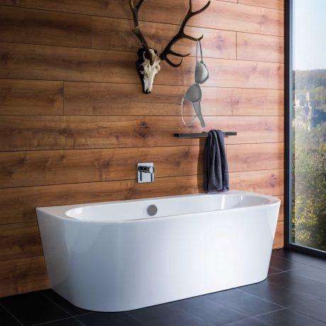 freistehende badewanne mit wandanschluss ostseesuche com. Black Bedroom Furniture Sets. Home Design Ideas