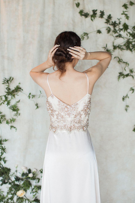 Nature wedding dress  House of Moirai Dubai   uaewedding bohemian lace weddingdress