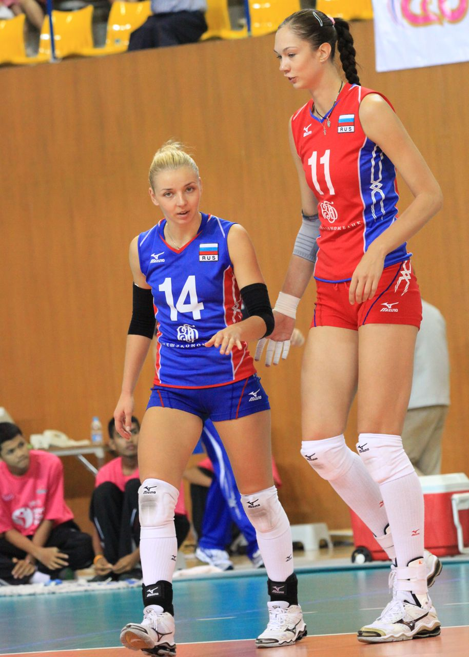 Yekatarina Gamova Tall Women Female Volleyball Players Tall People