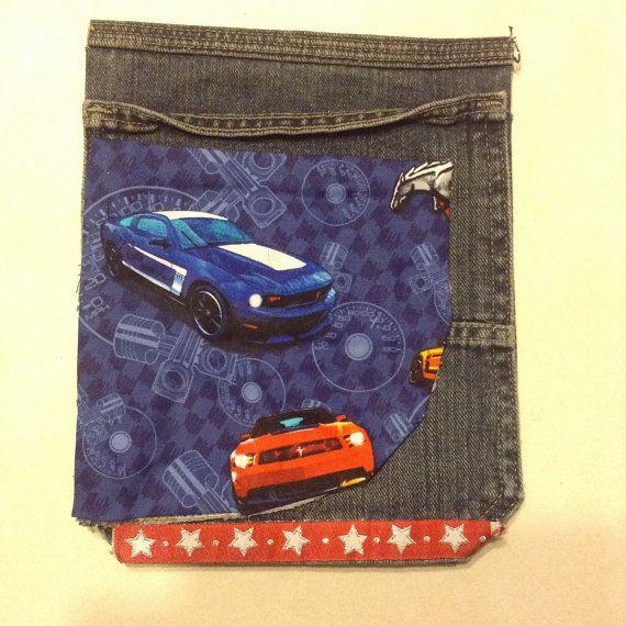 Mustang Locker Pocket by BeccasjamsandCrafts on Etsy