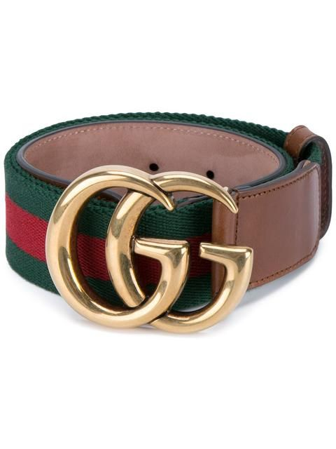 315cced36 Gucci Web Belt With Double G Buckle in 2019 | Fashionistah! | Gucci ...