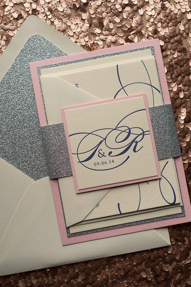 Diane Suite Fancy Glitter Package Invitationsglitter Envelopeswedding