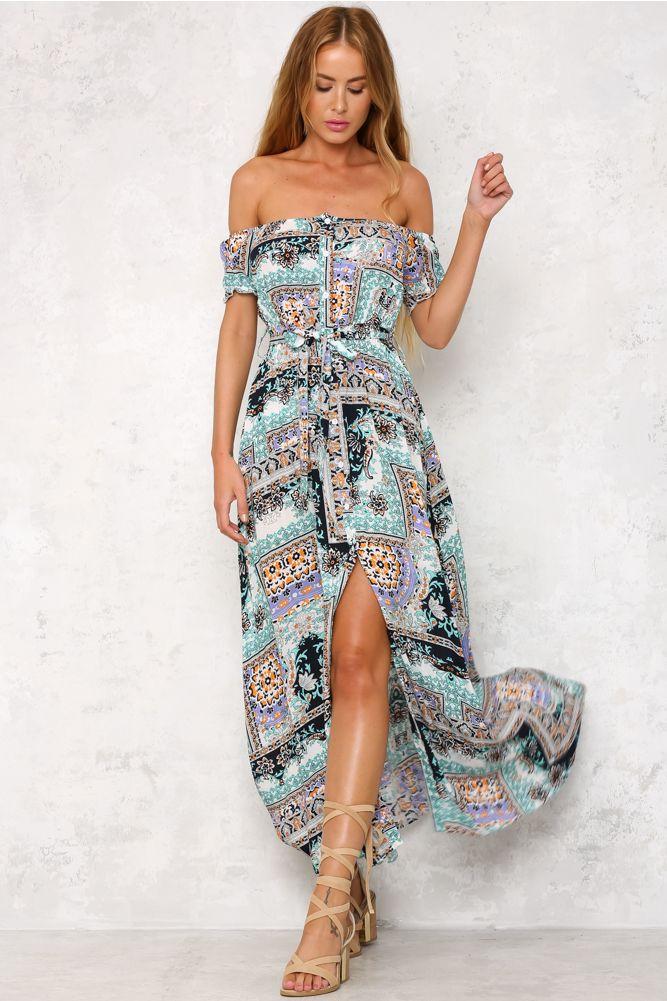 HelloMolly   Shake The Room Maxi Dress - Dresses