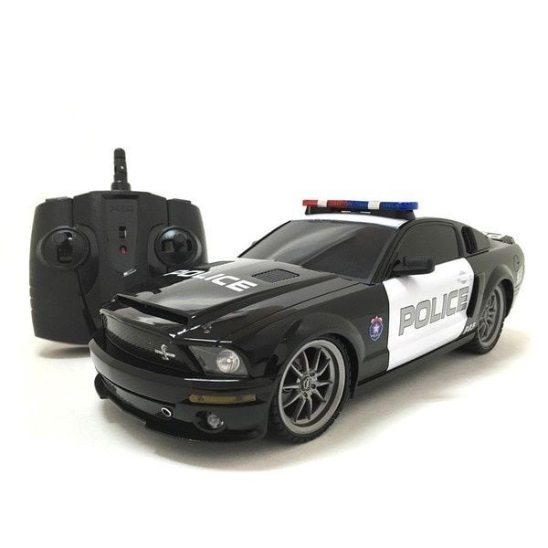 Ford Mustang Shelby GT350 Police Car Remote Control 2.4 GHz 1:18-scale Realistic #Mustang