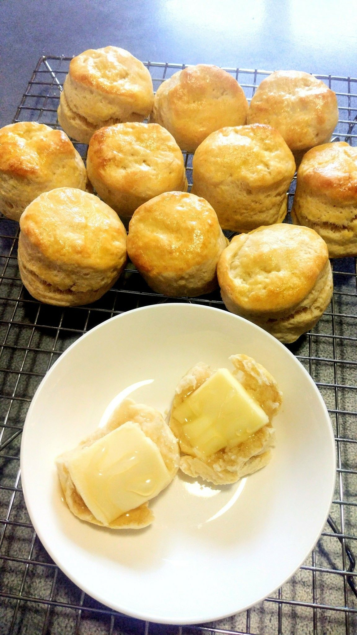Scones Self Rising Flour Is All Purpose Flour With Baking Powder And Salt Added To Make Your Own Combine 1 Cup Of All Purpose Self Rising Flour Baking Food