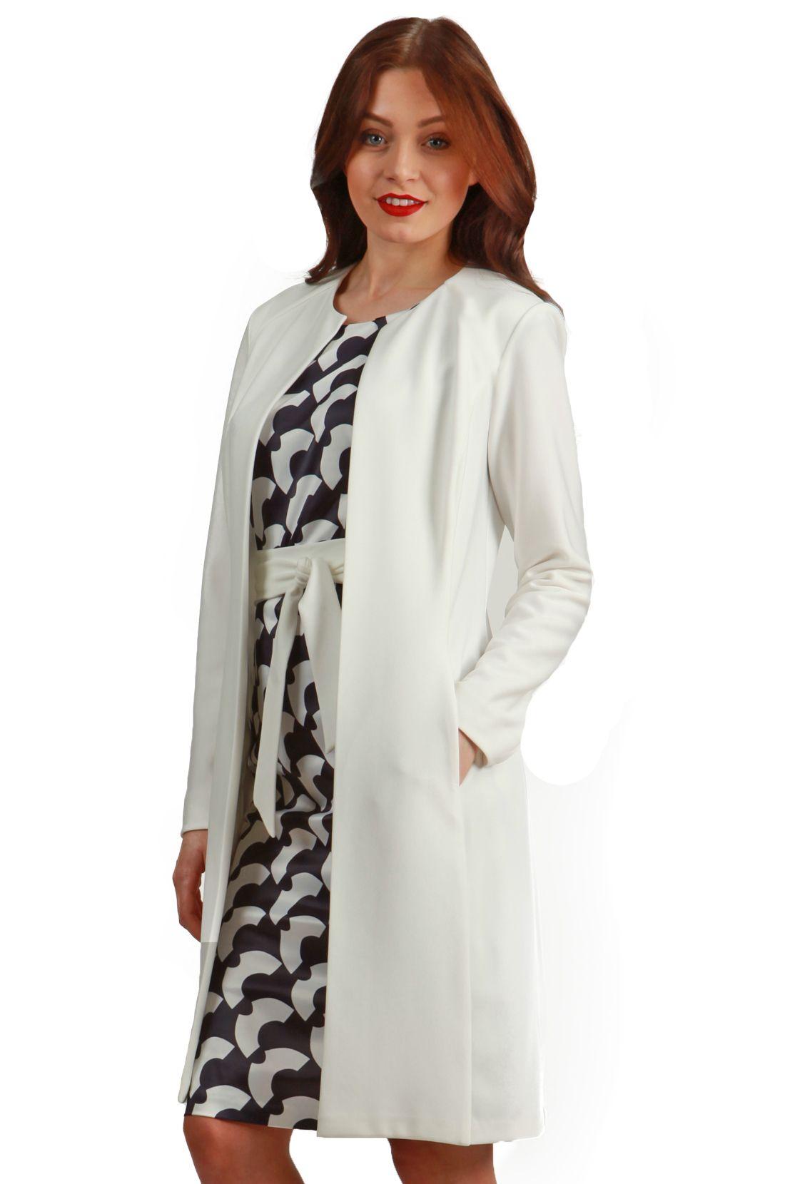 Twilight Coat in Ivory Cream