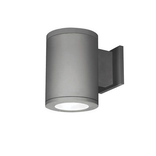 Tube Architectural  5-Inch LED Wall Light Towards Wall Beam 2700K 90 CRI in Graphite