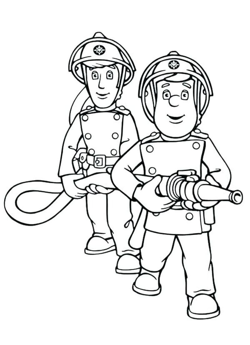 Coloring Page Of A Fireman Paw Patrol Coloring Pages Coloring Pages Paw Patrol Coloring