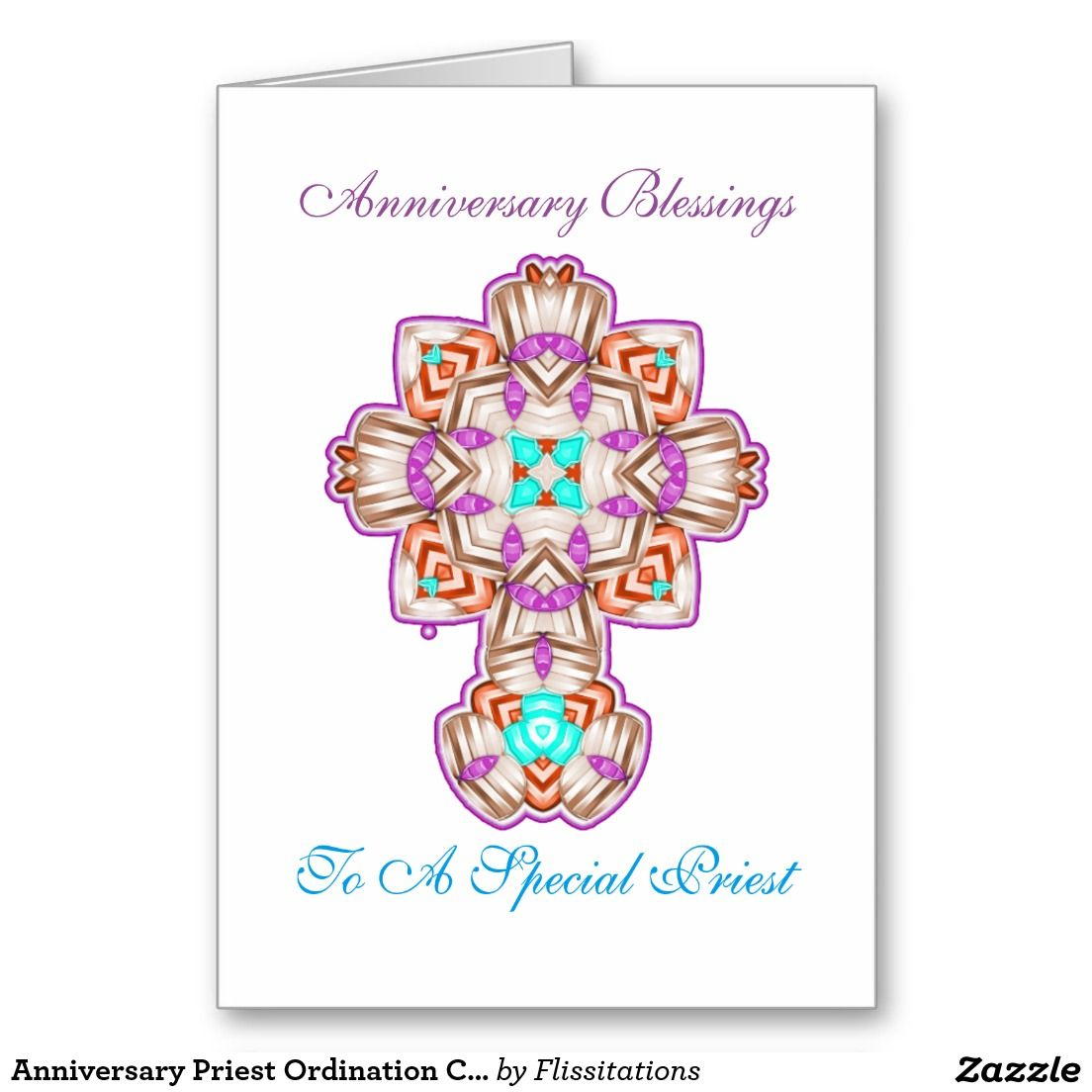 Anniversary Priest Ordination Celebrations Card Cards Pinterest