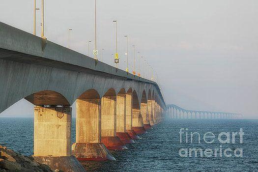 Confederation Bridge by Verena Matthew