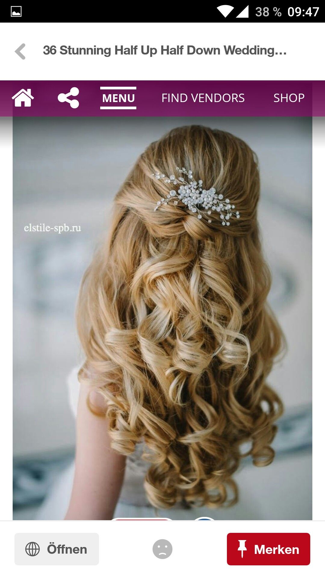 Pin by stephanie maier on hochzeitsfrisuren pinterest