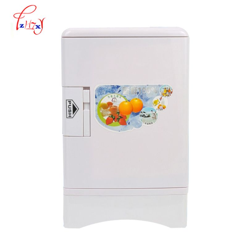 Mini Fridge Freezer 13 5l Home Dual Use Portable Refrigerators Refrigerator Car Compact Car 12 220 V Change Portable Refrigerator Mini Fridge Home Appliances