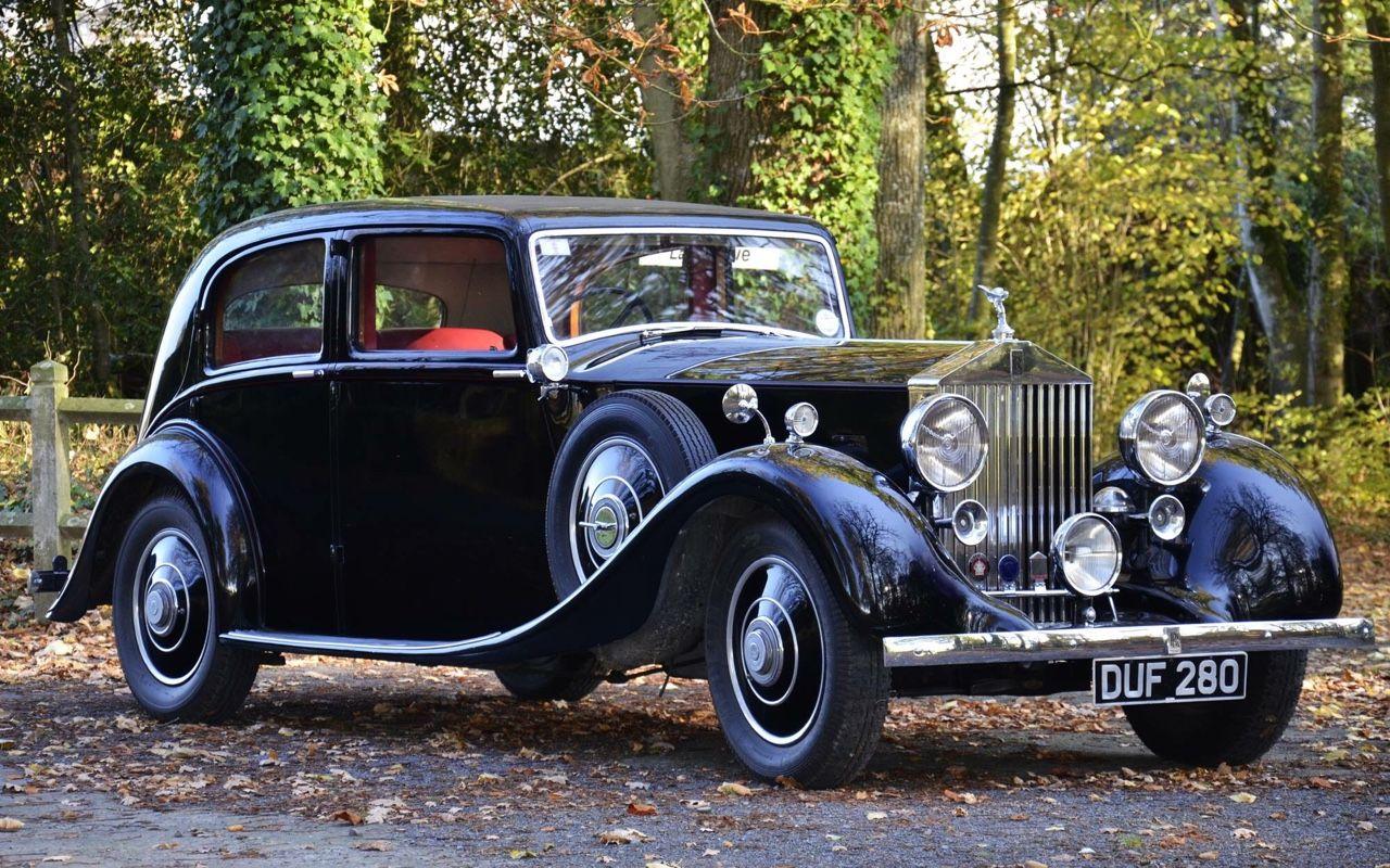 1937 Rolls-Royce 25/30 HP