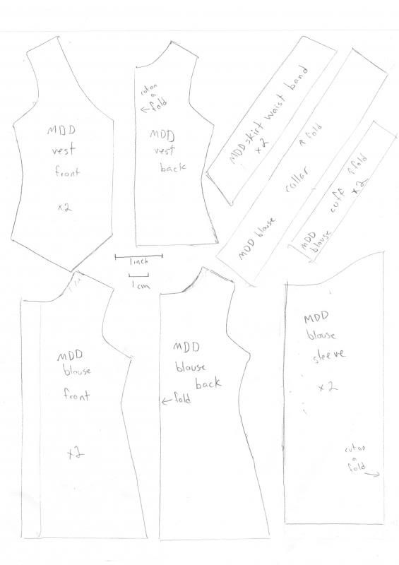 Clothes Pattern for an MDD | Furby and things | Doll clothes