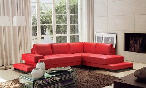Divani Casa Moscow Modern Leather Sectional Sofa by VIG Furniture