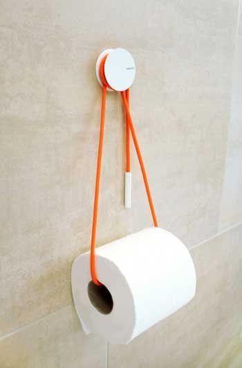 Portarrollos de papel higiénico muy originales para ...