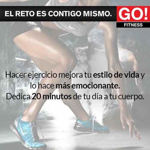 Dedica 20 minutos a tu cuerpo.