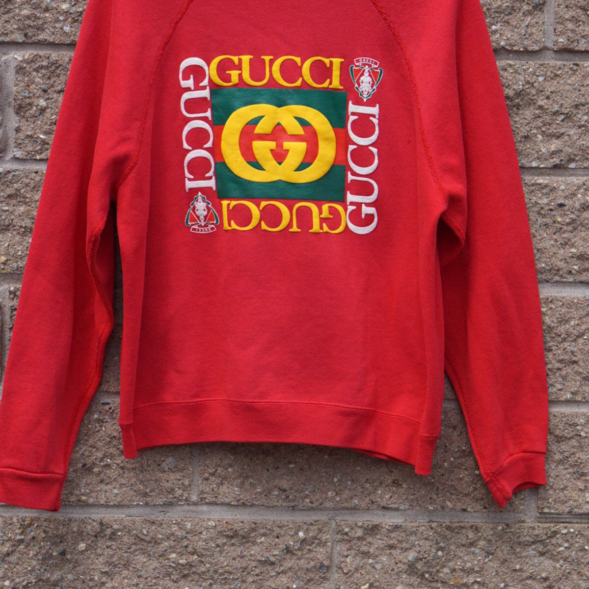 90cc7c8fb2ca72 Bootleg Gucci sweatshirt | 80s 90s vintage clothing accessories ...