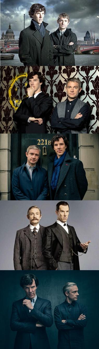 BBC Sherlock Series 1 - 4  #BBCSherlock #SherlockHolmes #BenedictCumberbatch…