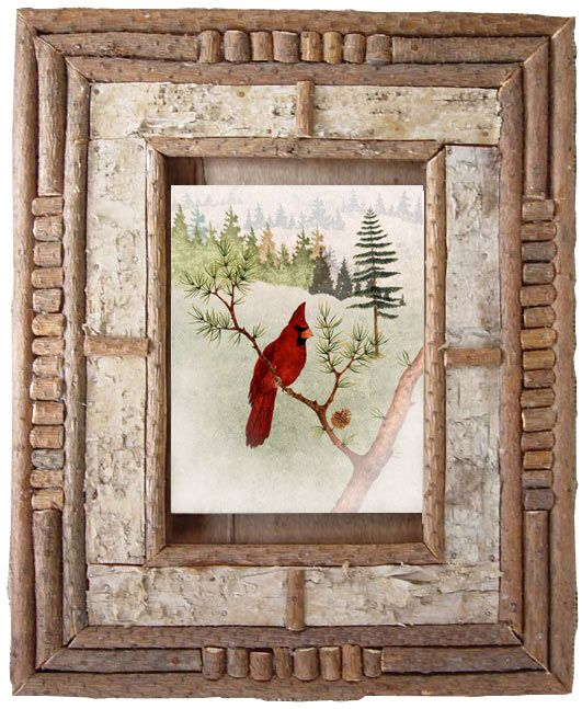 Art Prints in Rustic Decor Frames :|: Forest Home Rustic Decor Art ...