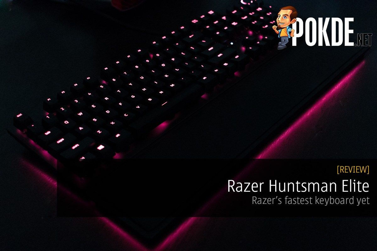 Razer Huntsman Elite OptoMechanical Gaming Keyboard