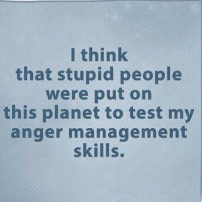 Anger management skills
