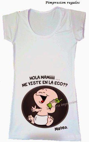 47cc12f2c Remeras Embarazada Futura Mama Personalizadas Baby Shower -   210