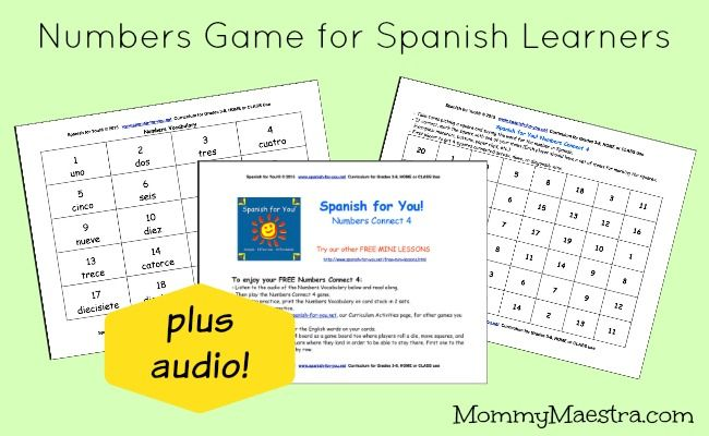 Pin By Spanish For You Spanish For Kids On Spanish