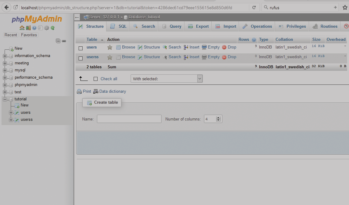 Kickstart Your Day With A Good Read Creating Database Using Phpmyadmin Step By Step Http Kelvline Nivlec Com Creating Datab Database Mysql User Interface