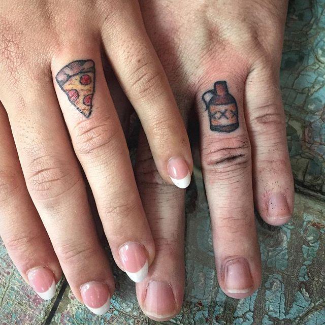 Wedding Ring Tattoos Weddingringtattoo Weddingtattoo