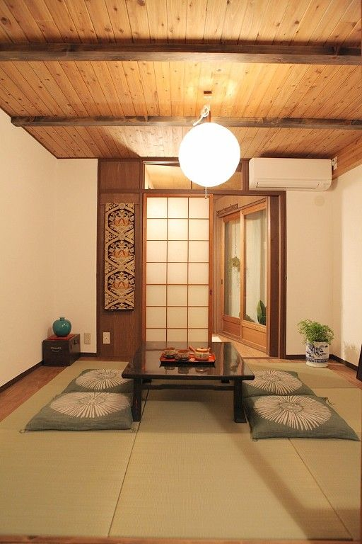 Japanese Tatami Mat Living Room Japanese Home Decor Traditional