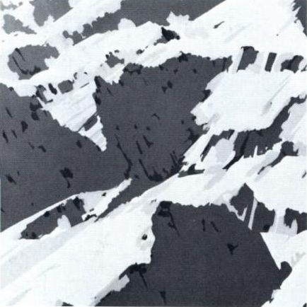 Gerhard Richter, Schweizer Alpen (Swiss Alps), 1969, 70 cm x 70 cm, Amphibolin on canvas