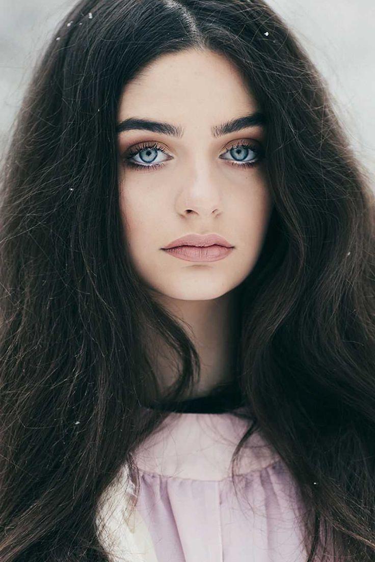 result black hair blue