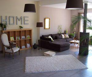 aménagement deco salon couleur taupe beige | Deco salon, Taupe and ...