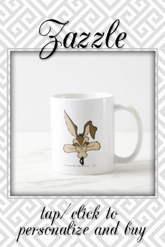 Wile E Coyote Pleased Head Shot Coffee Mug  Like Cartoons