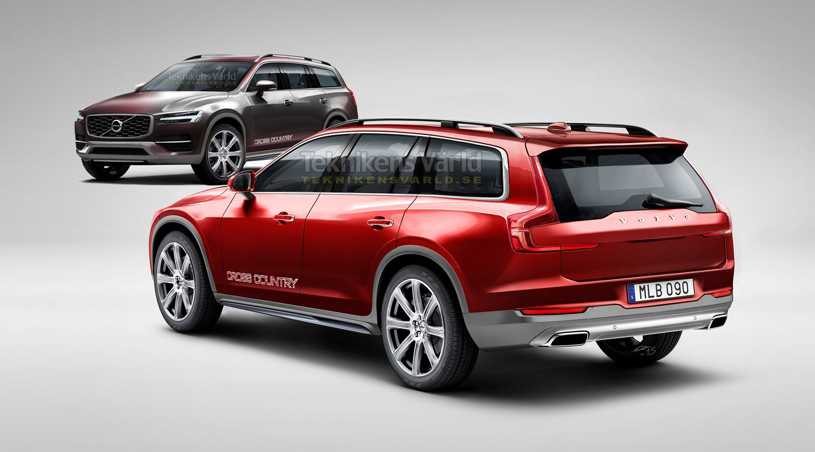 Volvo v90 cross country concept