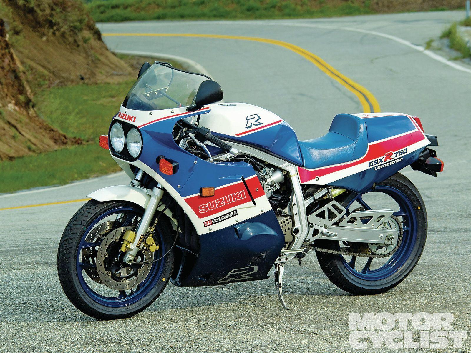 Old School Suzuki Gsxr750 | Vehicles I like | Suzuki bikes