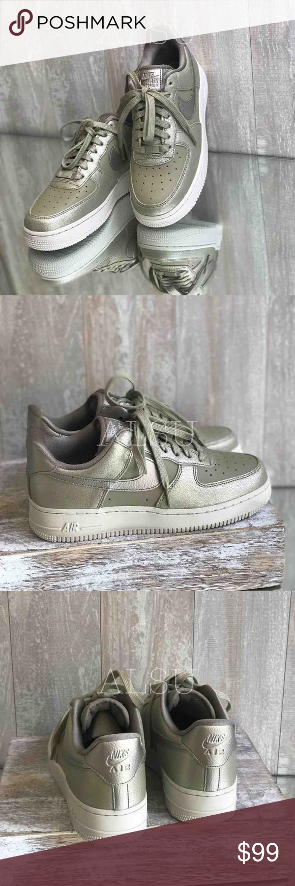Nike Air Force 1'07 PRM Neutral Olive W AUTHENTIC Brand new